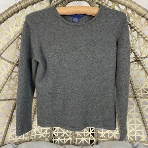 Charter Club 100% Cashmere Sweaters - Dark Grey